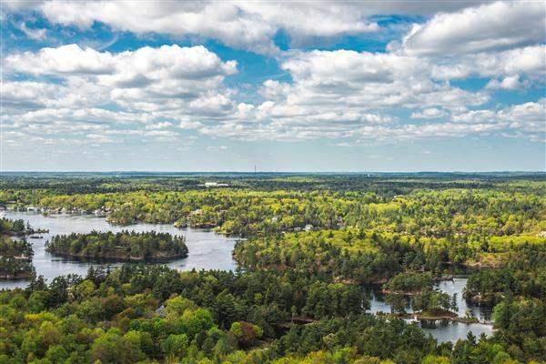 Thousand Islands region Ontario lake