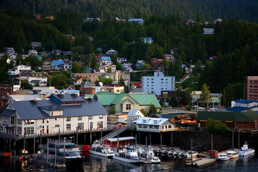 Ketchican Alaska boats