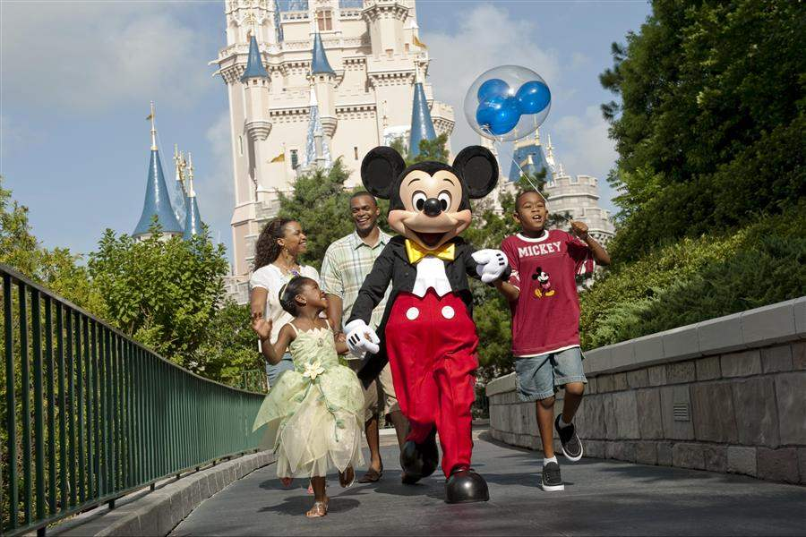 Disney Magic Kingdom family