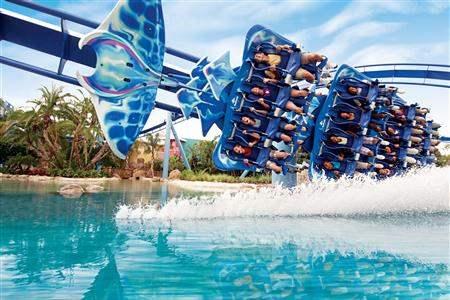 SeaWorld Orlando Manta Florida