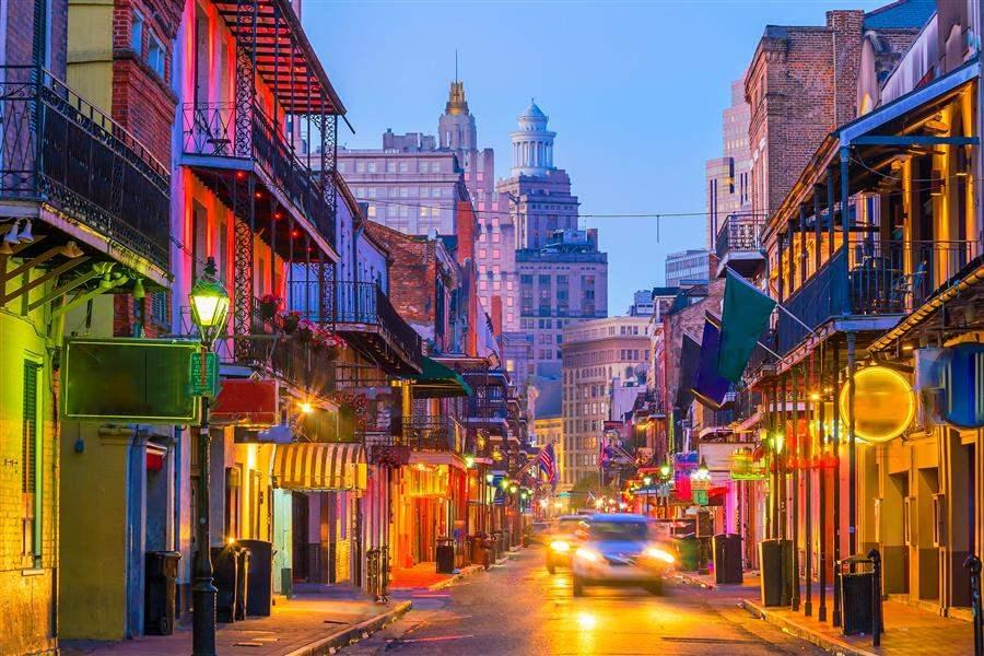 New Orleans Bourbon Steet