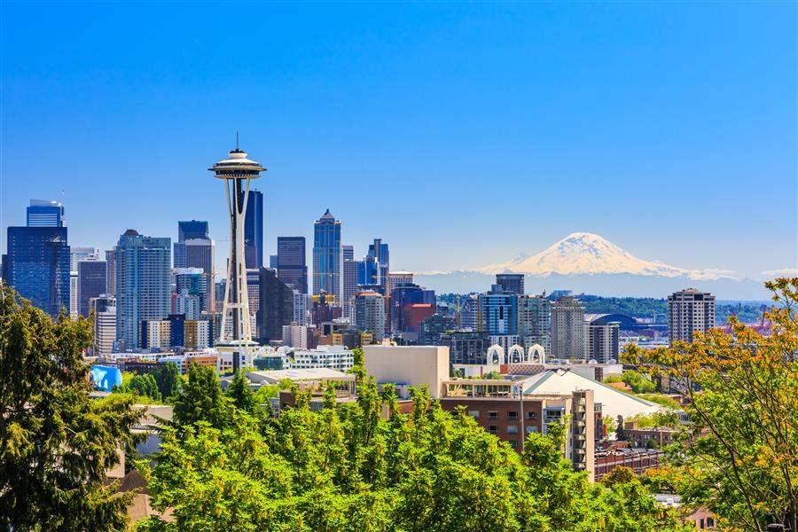 Seattle Skyline Day