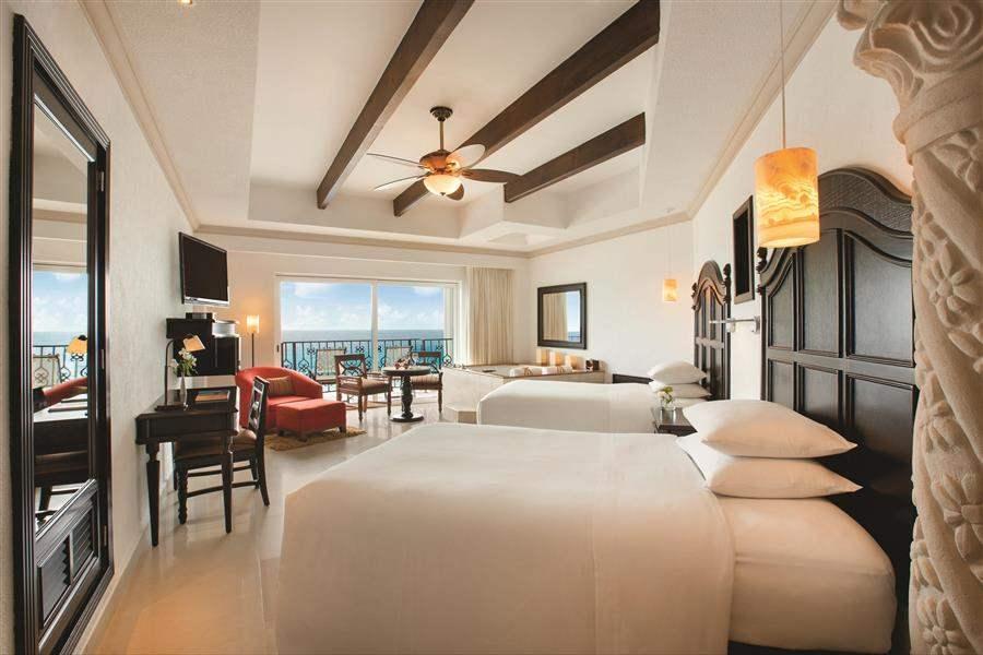 Hyatt Zilara Cancun Double Ocean Views Suite Bed