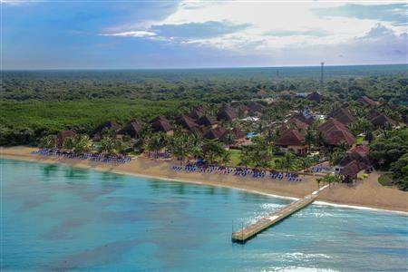 Allegro Cozumel Aerial View