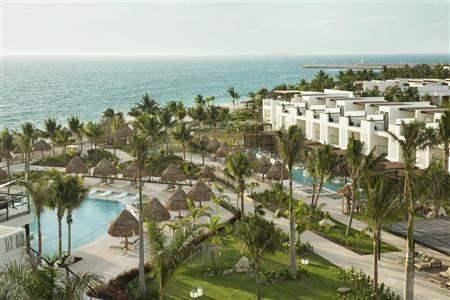 Finest Playa Mujeres Resort Aerial