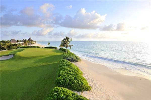 Fairmont Mayakoba Golf Course Beach