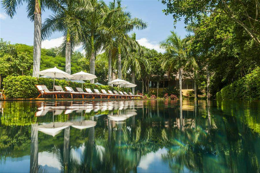 Grand Velas Riviera Maya Pool Day