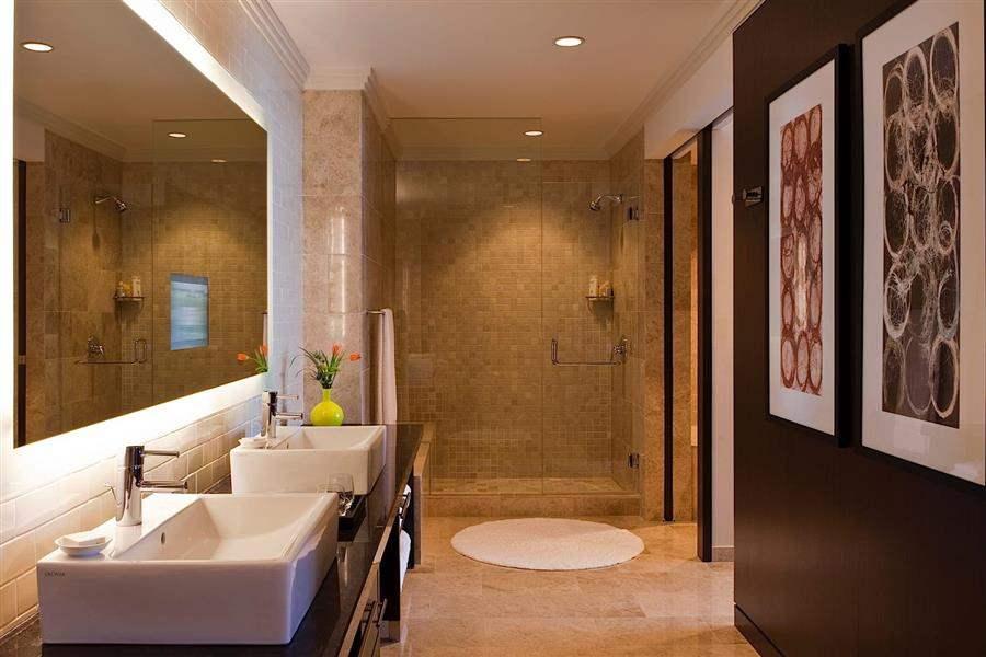 Loews Atlanta Hotel Presidential Bathroom