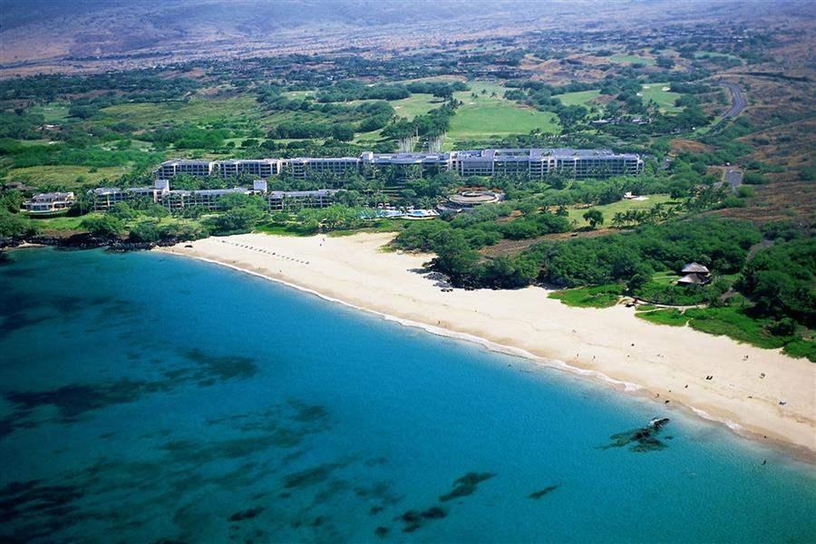 Hapuna Beach Prince Hotel Resort Aerial