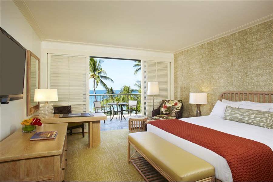 Hapuna Beach Prince Hotel Partial Ocean View