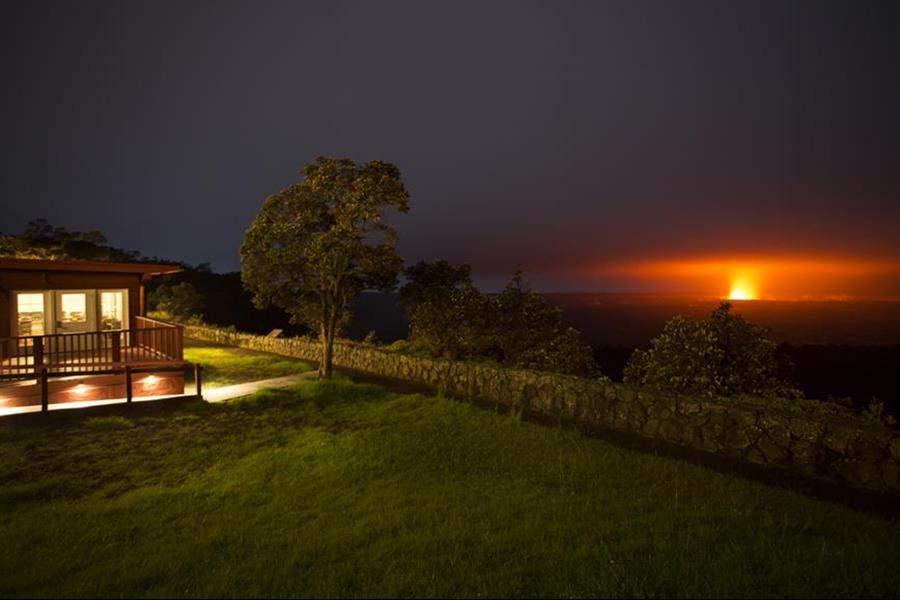 Volcano House Night View
