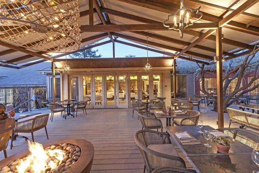 Bernardus Lodge Outdoor Dining