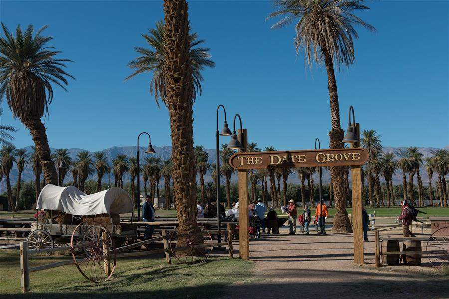 Furnace Creek Ranch Hotel Grounds