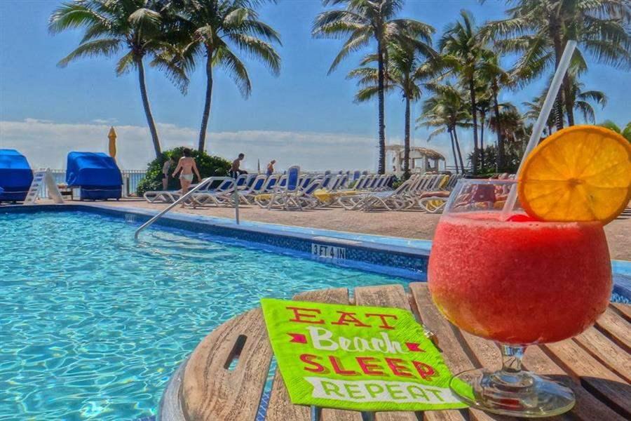 Ocean Sky Hoteland Resort Cocktail