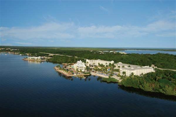 Key Largo Marriott Bay Resort Resort Aerial