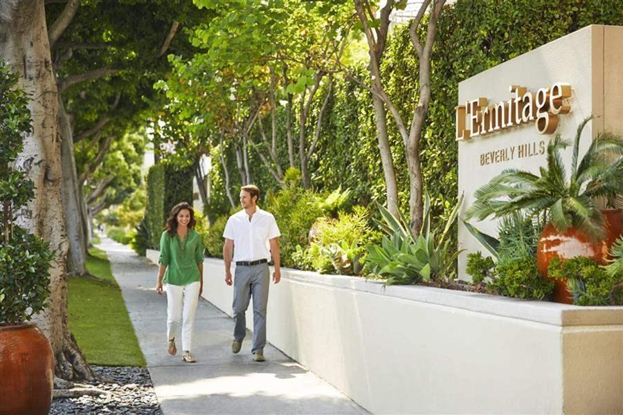 Viceroy L'Ermitage Beverly Hills Entrance