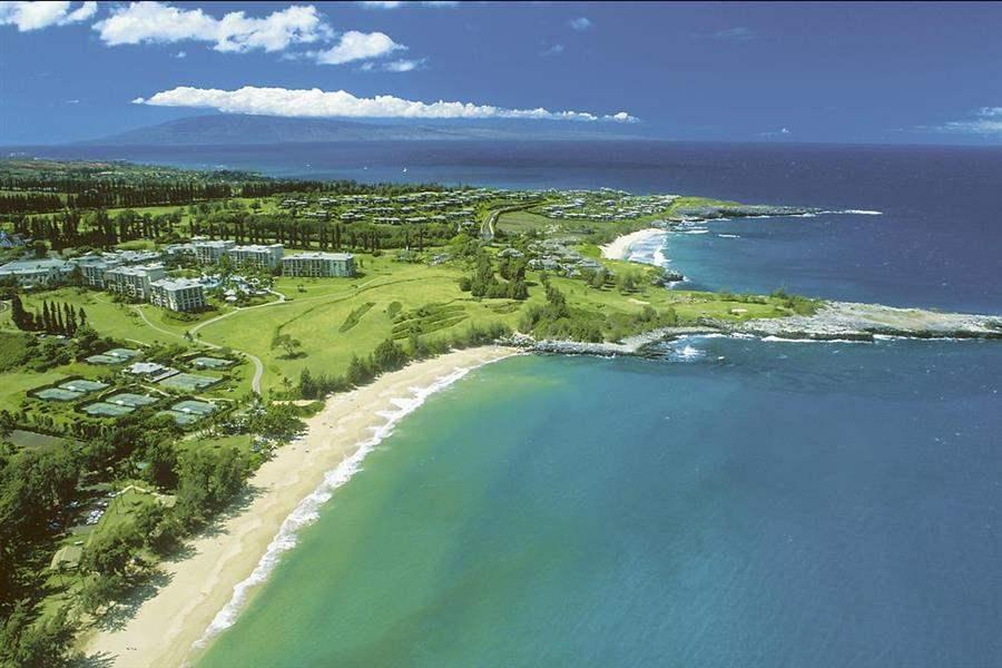 Ritz Carlton Kapalua Resort Aerial