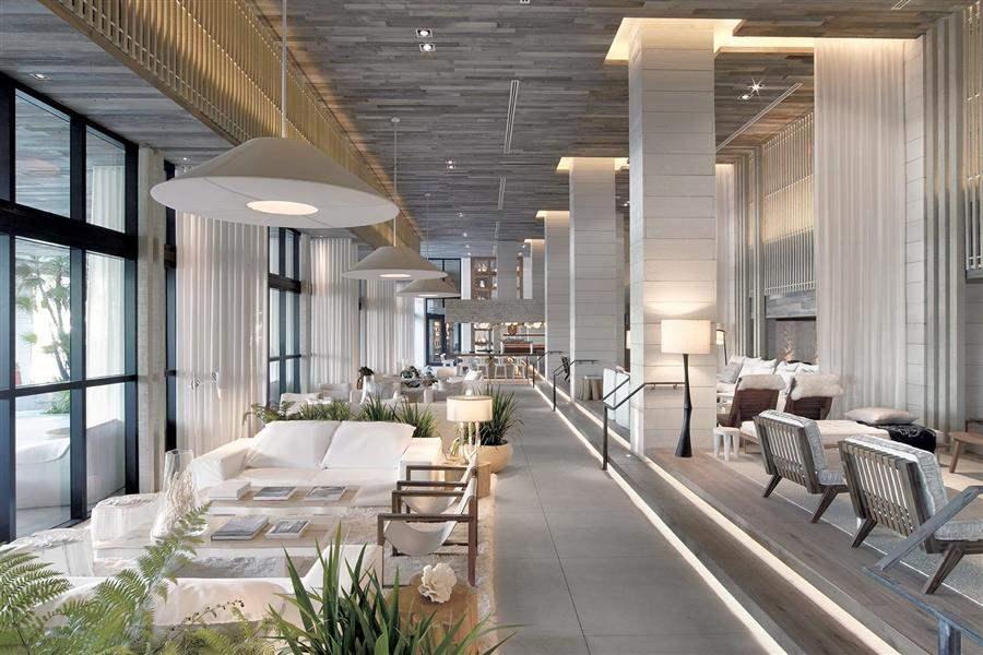 Hotel South Beach Lobby