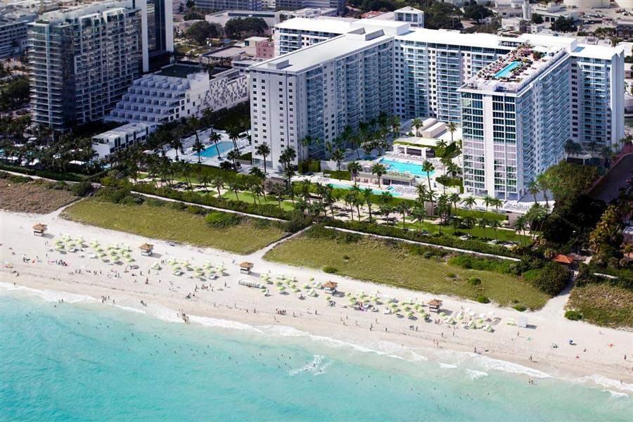 Hotel South Beach Exterior Aerial