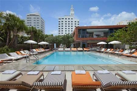 S L S Hotel South Beach Pool