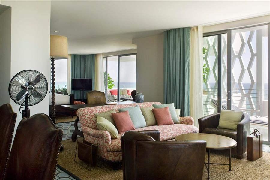 Soho Beach House Lounge Interior