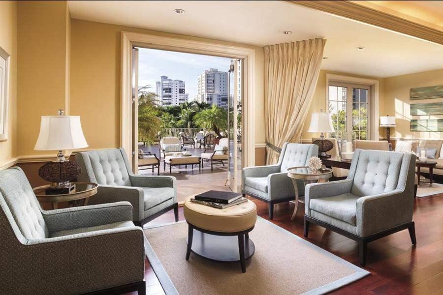 Ritz Carlton Naples Lounge Suite