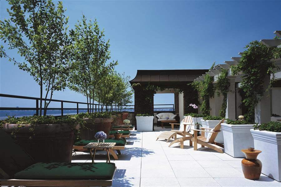 Hudson New York Outdoor Terrace