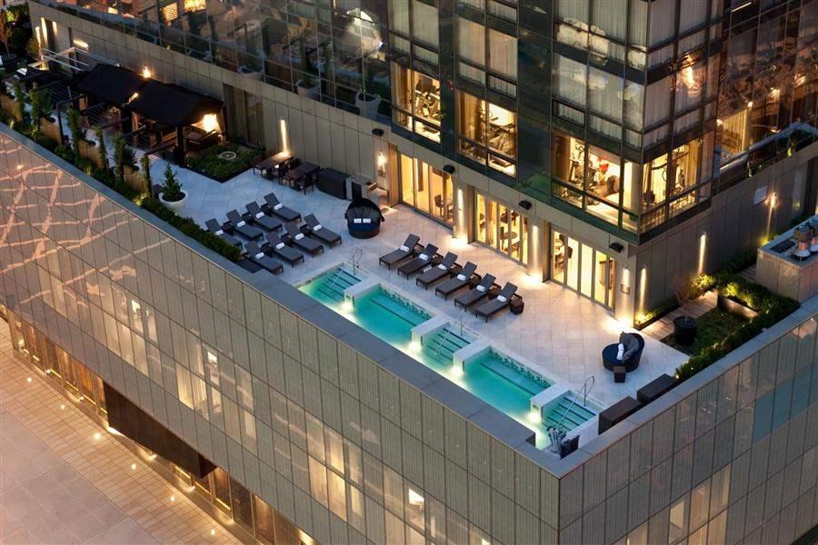 Trump Soho Hotel Hotel Aerial
