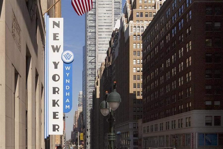 Wyndham New Yorker Hotel Exterior