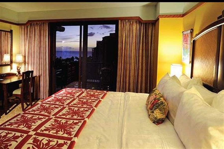 Aulani Disney Resort Spa Bedroom