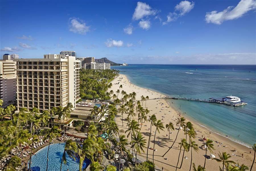 Hilton Hawaiian Village Exterior View