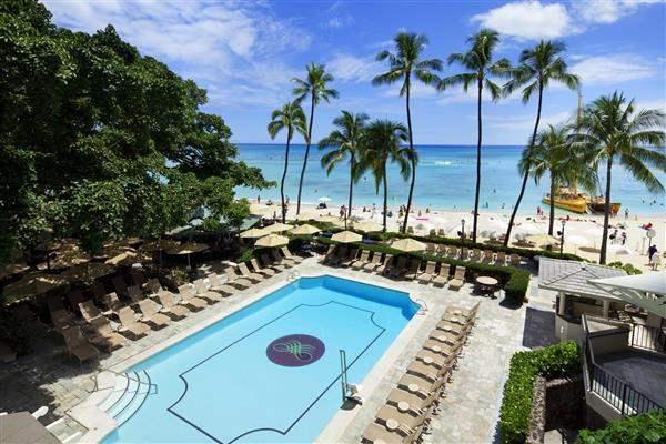 Moana Surfridera Westin Resort Pool