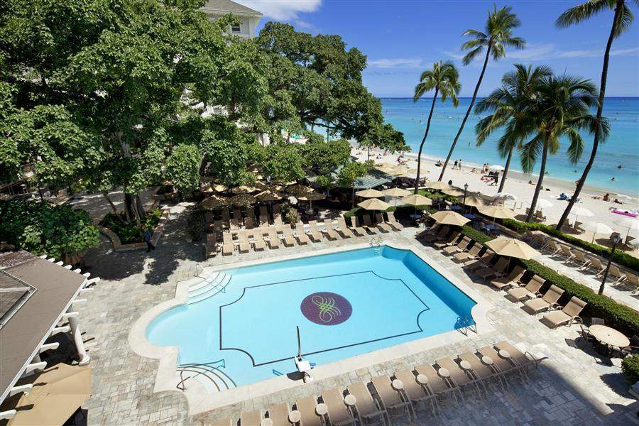 Moana Surfridera Westin Resort Pool View
