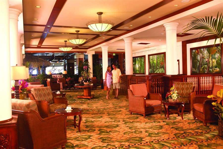 Outrigger Waikikionthe Beach Lobby