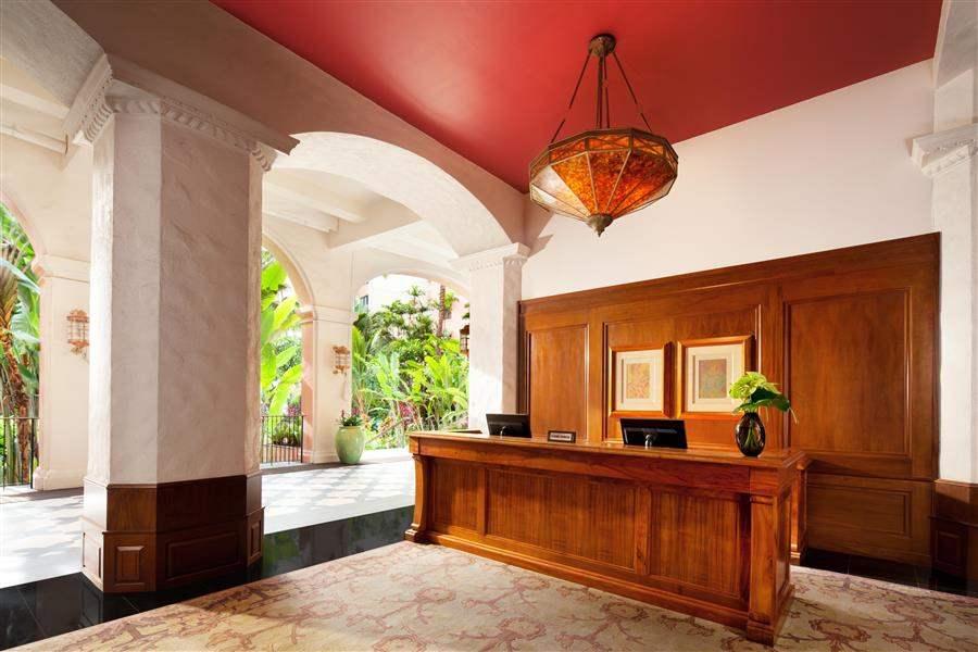 The Royal Hawaiian A Luxury Collection Resort Lobby