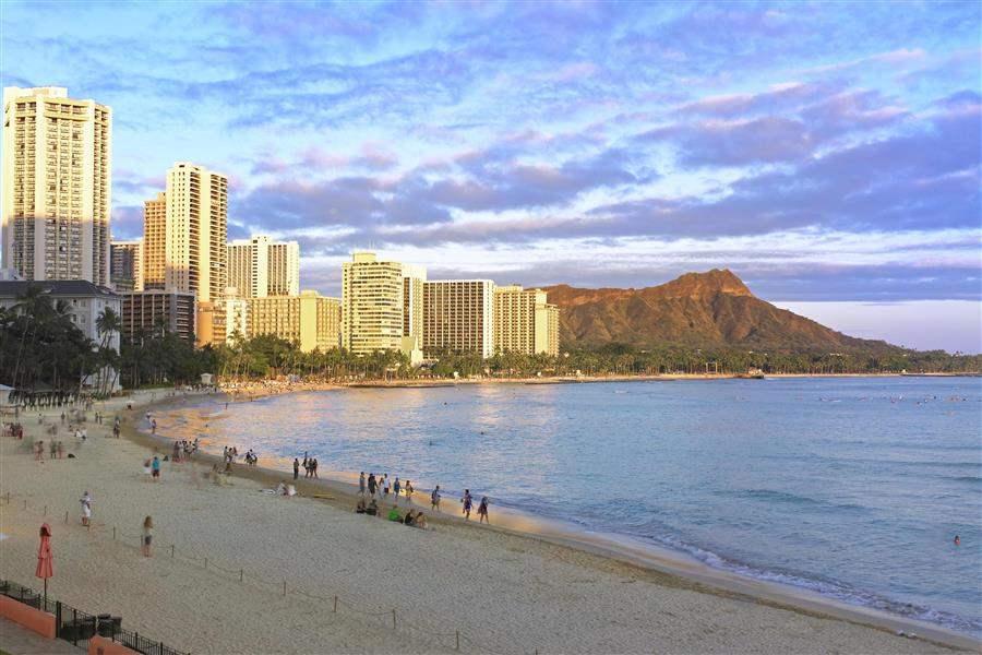 The Royal Hawaiian A Luxury Collection Resort Beach