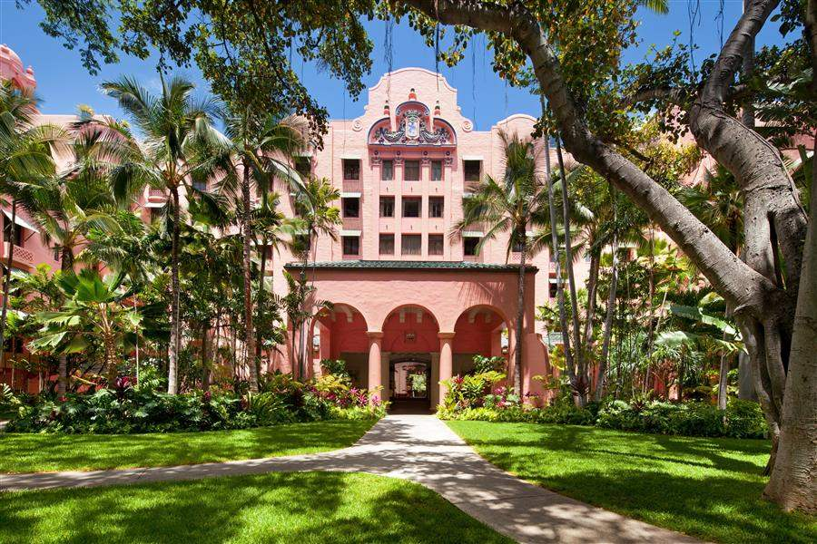 The Royal Hawaiian A Luxury Collection Resort Exterior View