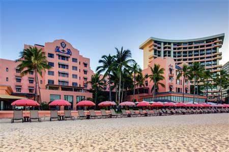 The Royal Hawaiian A Luxury Collection Resort Exterior Beach
