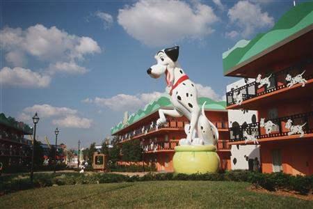 Disneys All Star Movies Resort Hotel Exterior