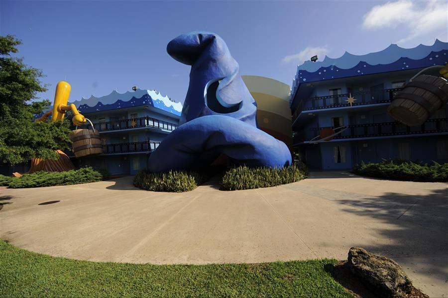 Disneys All Star Movies Resort Resort Exterior