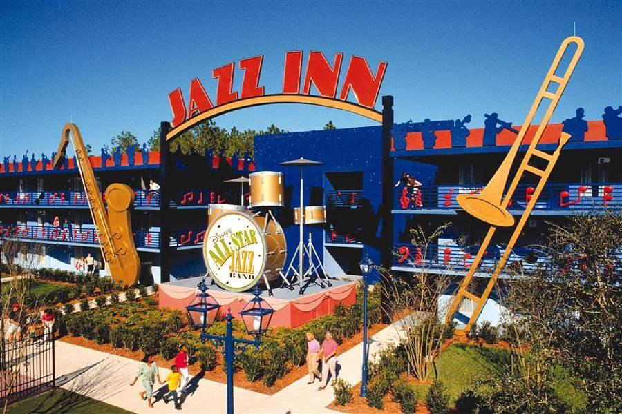 Disneys All Star Music Resort Resort Exterior
