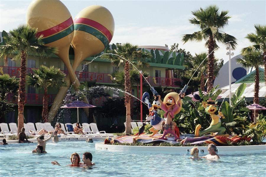 Disneys All Star Music Resort Swimming Area