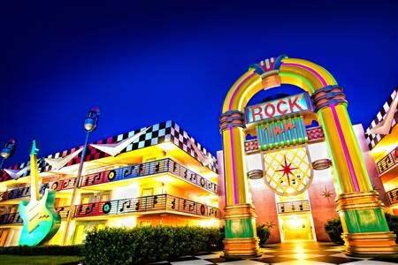 Disneys All Star Music Resort Resort Entrance