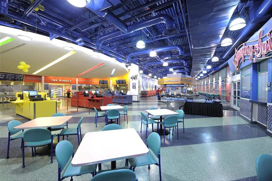 Disneys All Star Music Resort Dining Interior