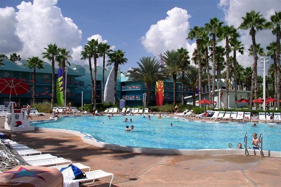 Disneys All Star Sports Resort Swimming Pool