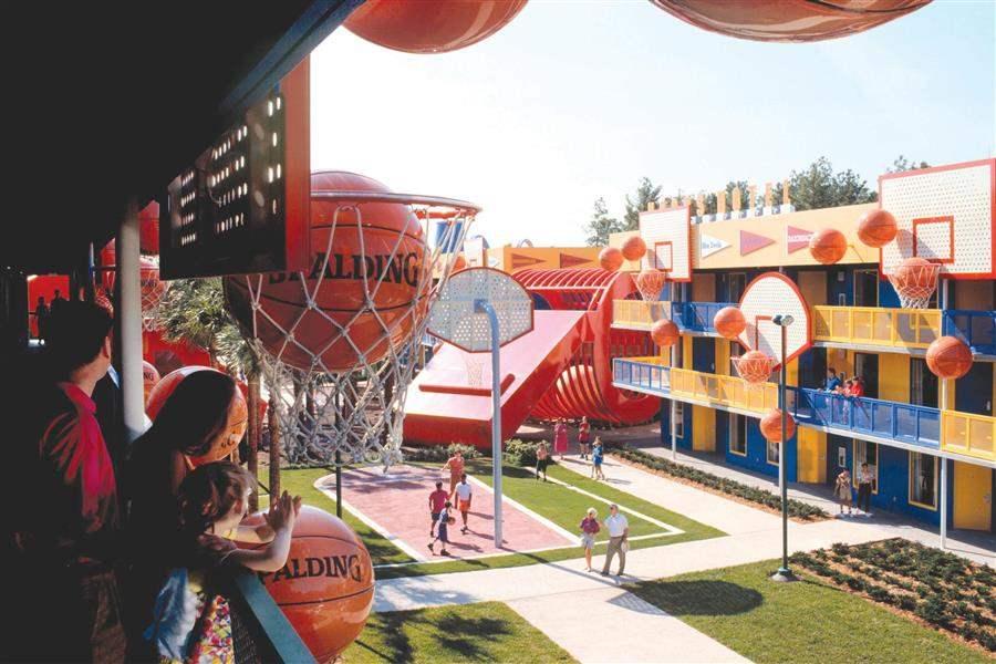 Disneys All Star Sports Resort Facilities