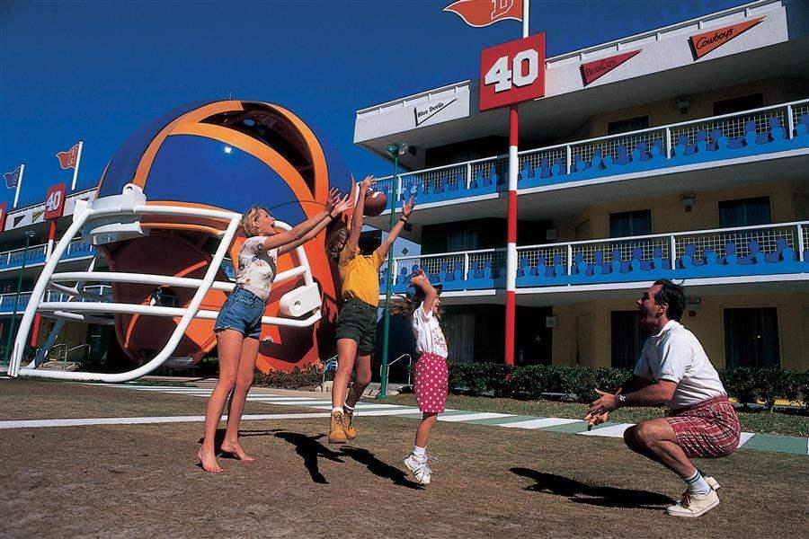 Disneys All Star Sports Resort Sports Facilities