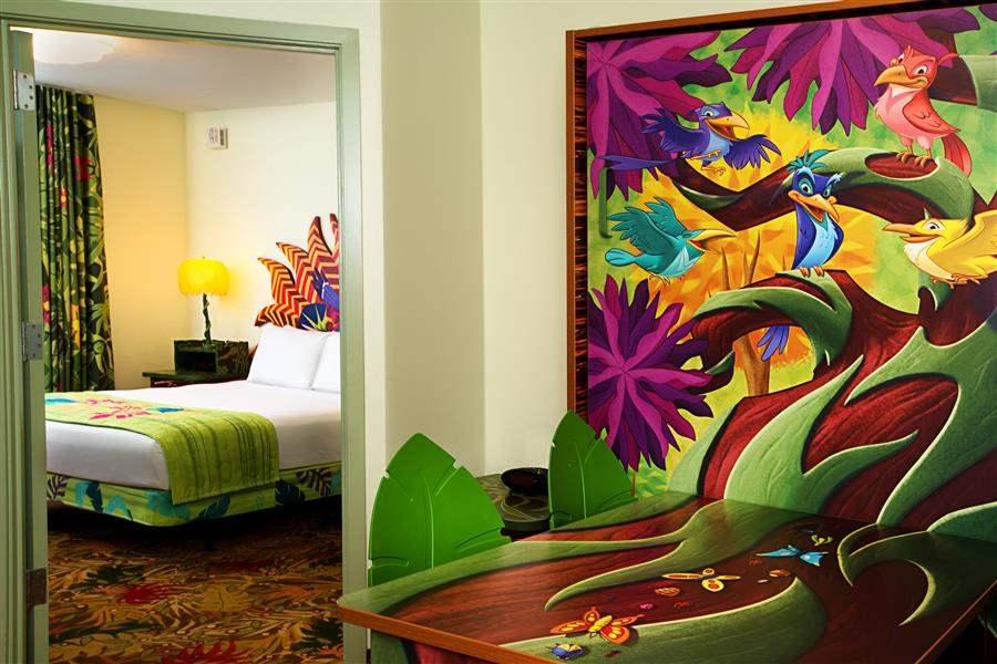 Disneys Artof Animation Resort Suite Interior