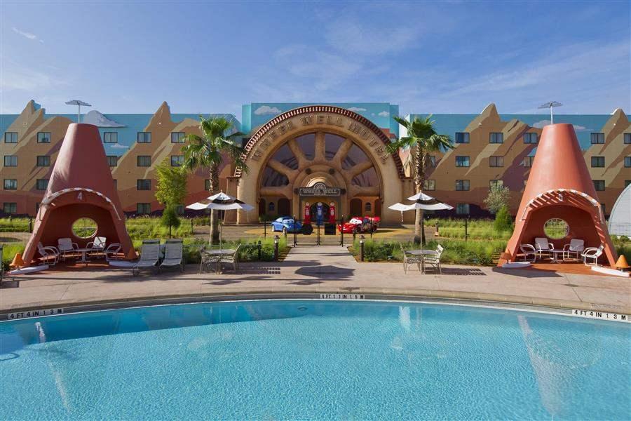 Disneys Artof Animation Resort Hotel Exterior