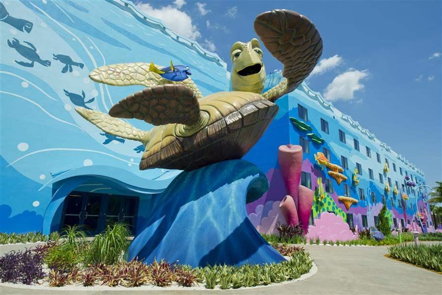 Disneys Artof Animation Resort Exterior View